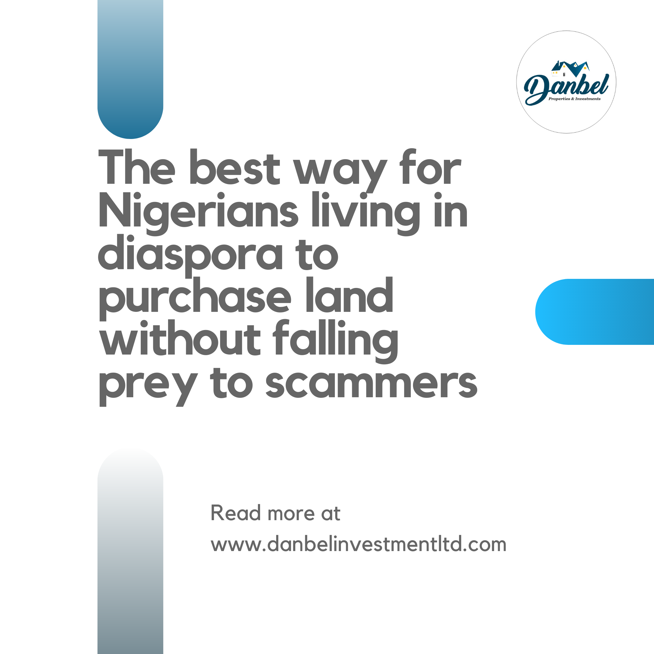 The best way for Nigerians living in diaspora to purchase land without falling prey to scammers