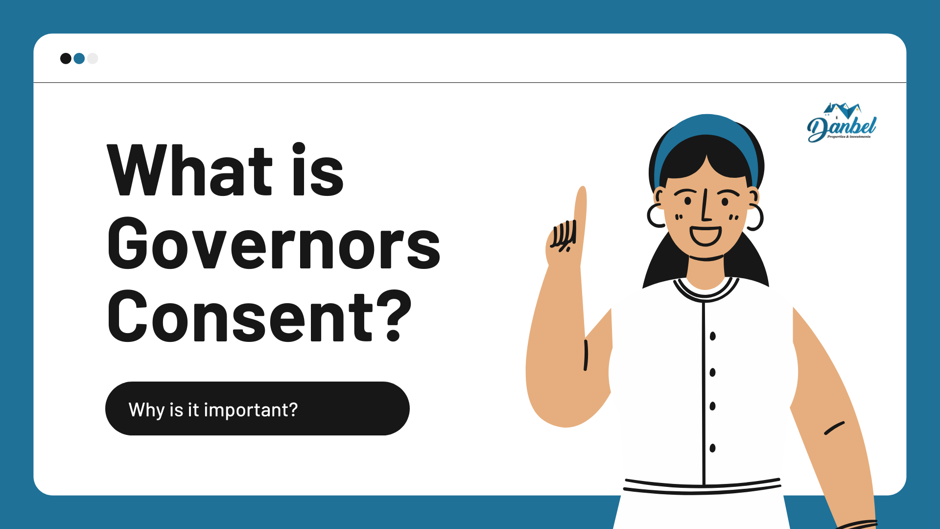 What is Governors consent
